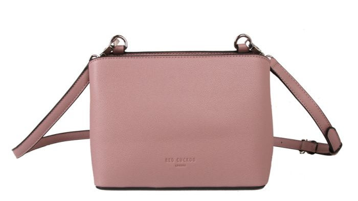 Red Cuckoo Pink Cross Body Bag