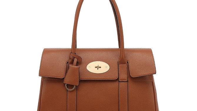 Tan Inspired Tote Bag
