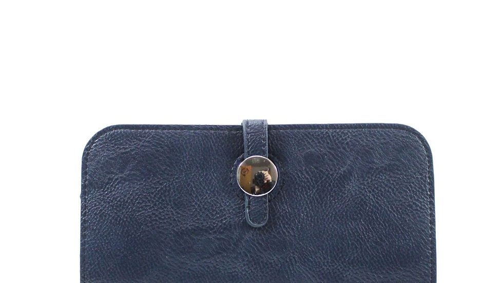 Inspired Navy Purse With Card Holder