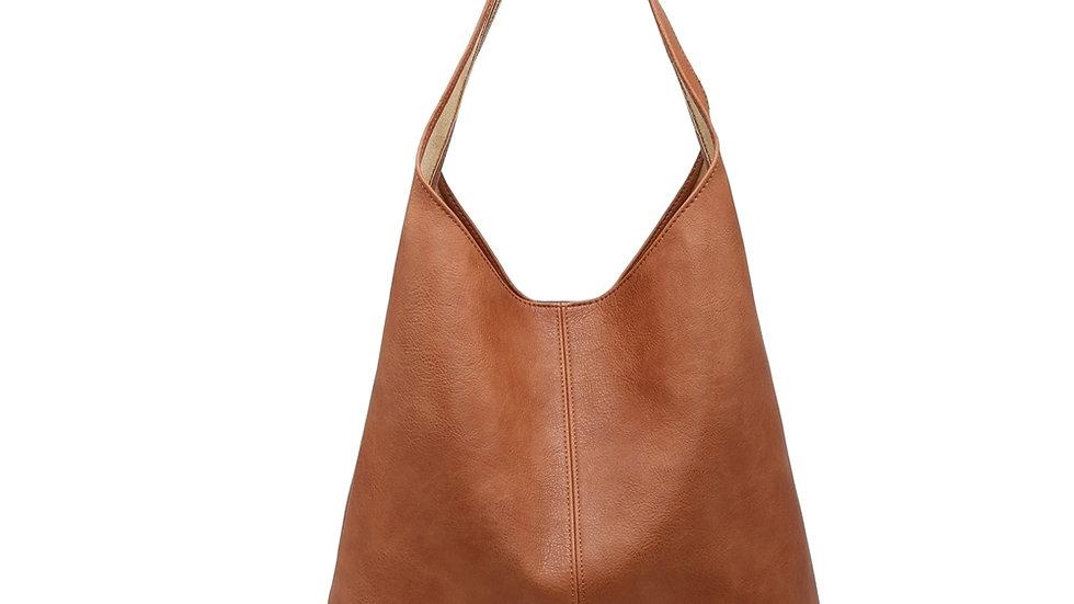 Large Tan Shoulder Bag