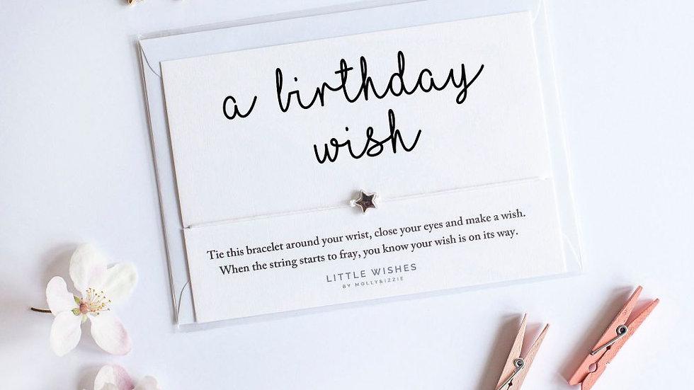 Little Wishes Bracelet - Birthday Wish