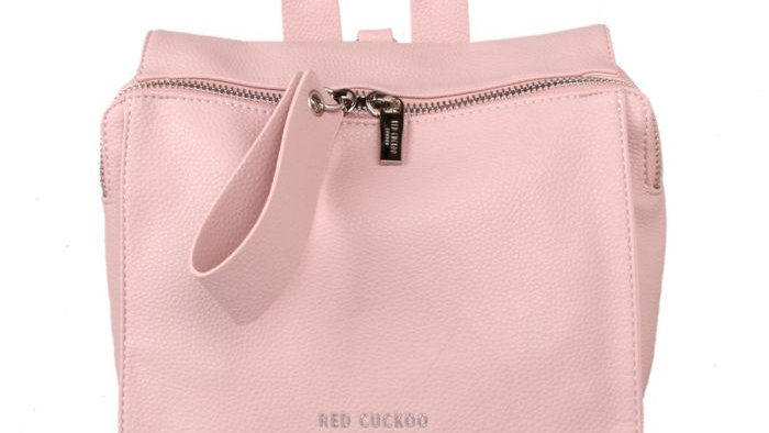 Red Cuckoo Pink Backpack