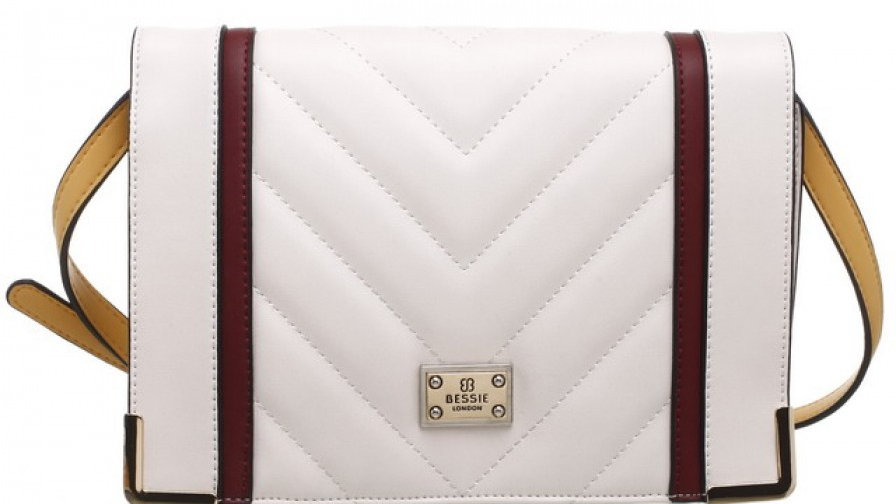Bessie London Quilted Multi Colour Flap Over Bag