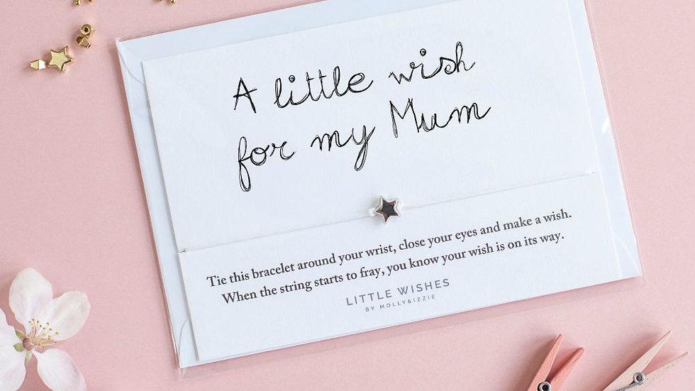 Little Wishes Bracelet -Mum
