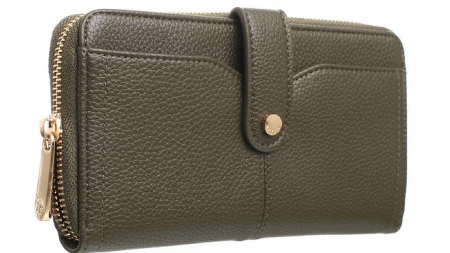 Bessie London Green Medium Classic Purse