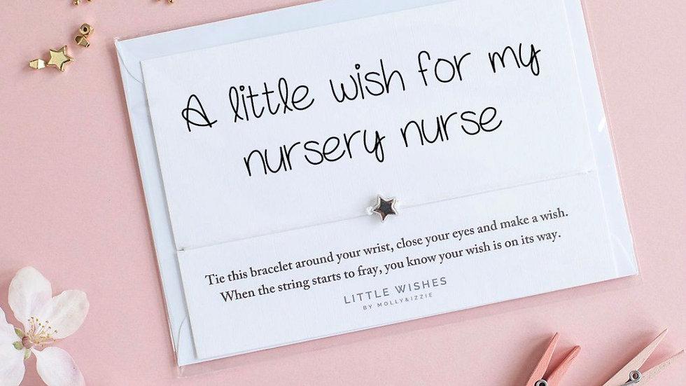 Little Wishes Bracelet - Nursery Nurse