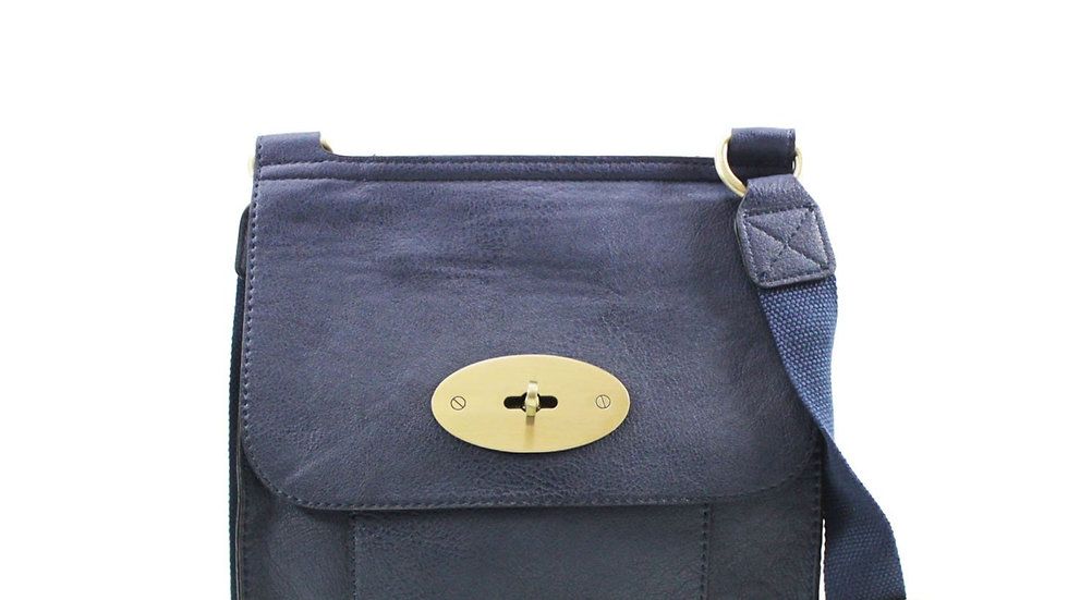 Dark Blue Medium Classic Crossbody