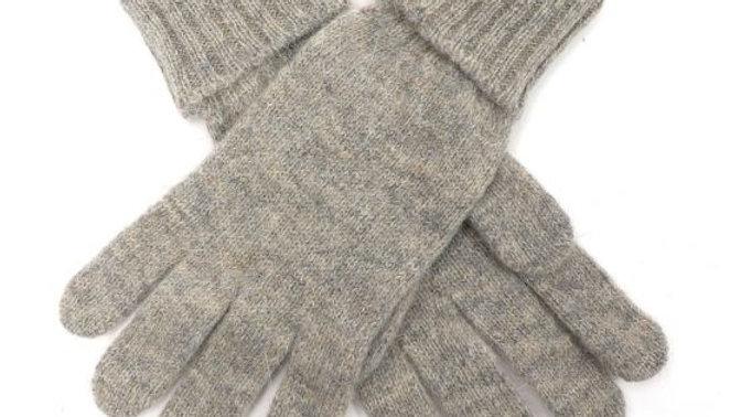 Light Grey Woollen Gloves