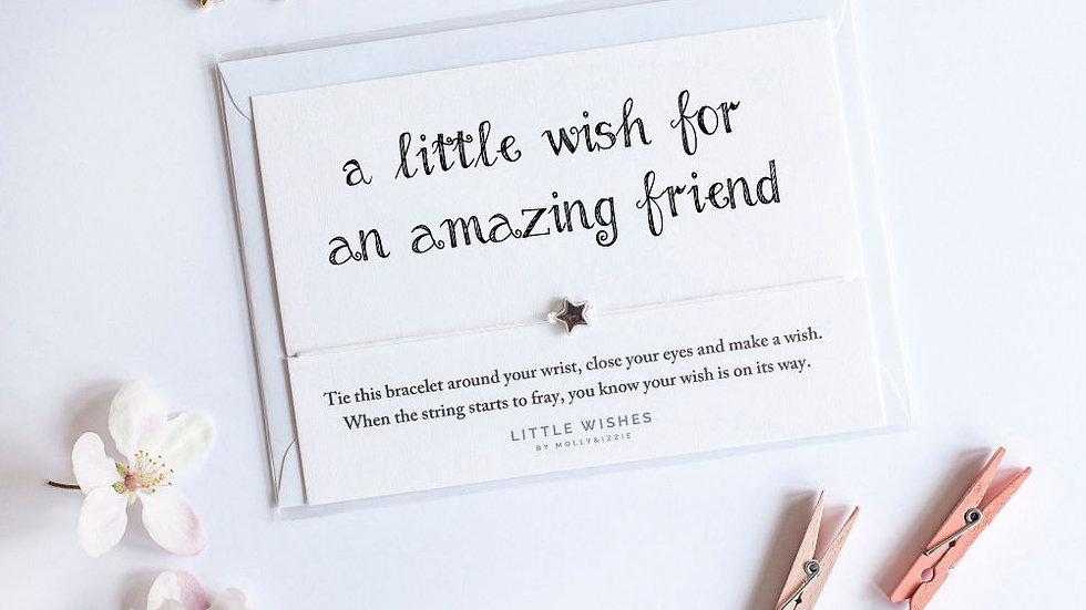 Little Wishes Bracelet -Amazing Friend