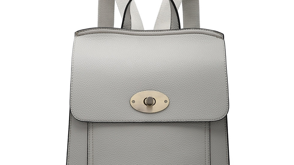 Light Grey Classic Backpack