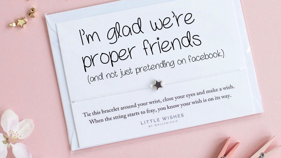 Little Wishes Bracelet - Proper Friends