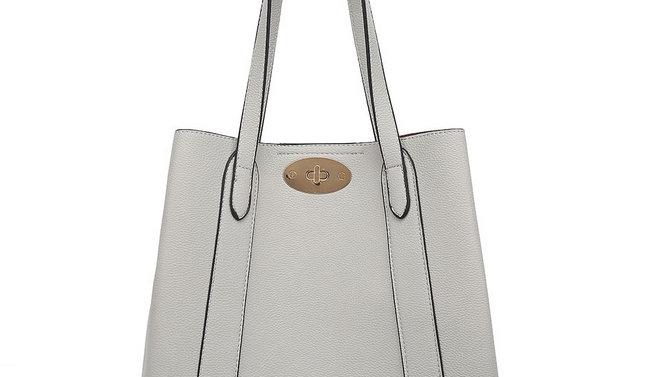 Light Grey Inspired Shoulder Bag