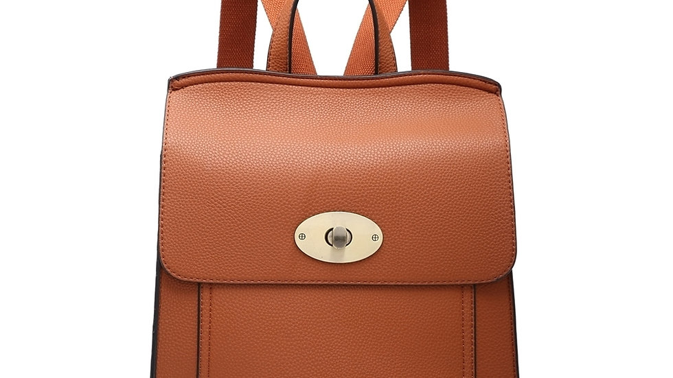 Tan Classic Backpack