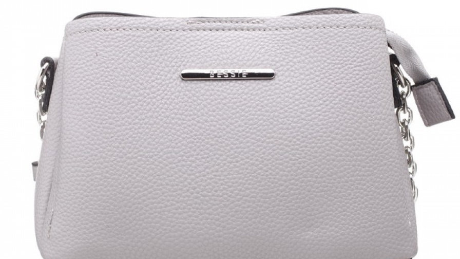 Bessie London Classic Small Three Compartment Bag