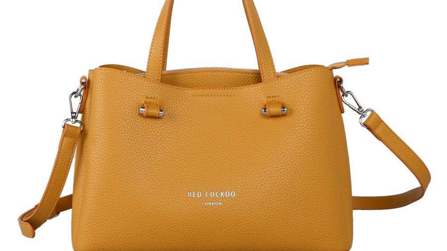 Red Cuckoo Mustard Tote Bag