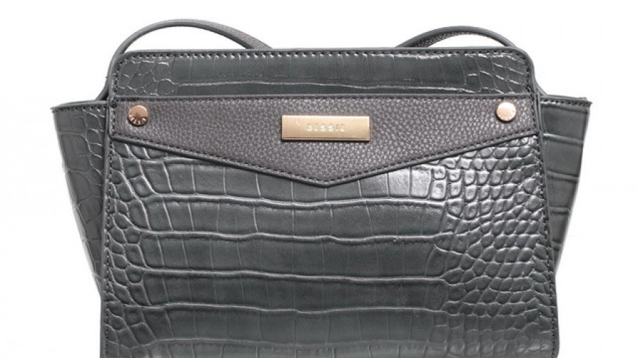 Bessie London Urban Croc Print Crossbody