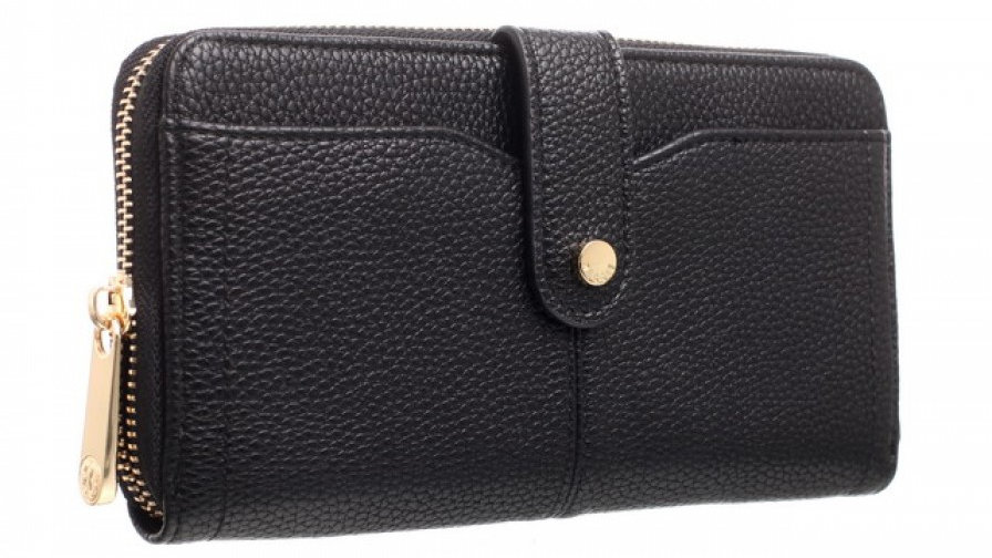 Bessie London Black Medium Classic Purse