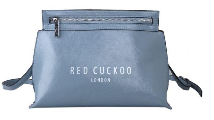 Red Cuckoo Blue Zip Fastening Cross Body