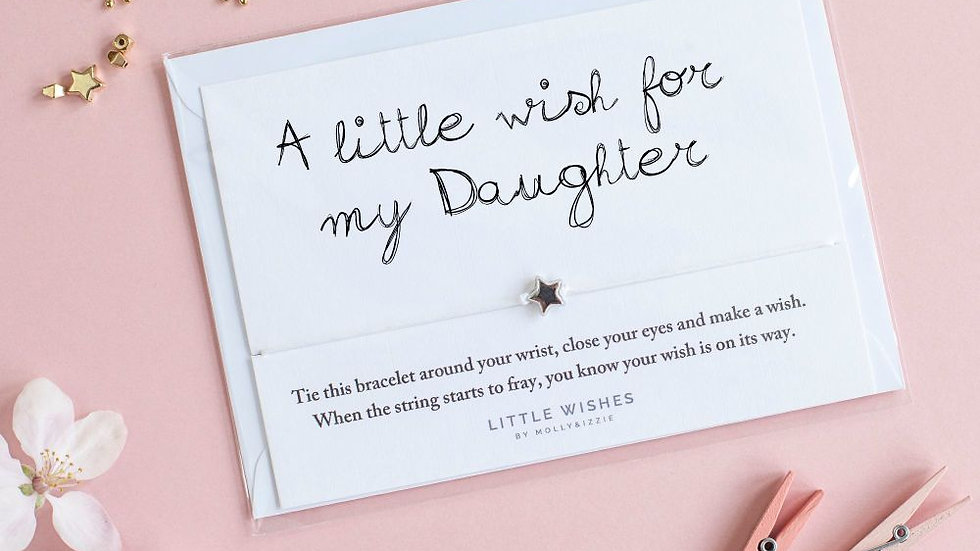Little Wishes Bracelet -Daughter