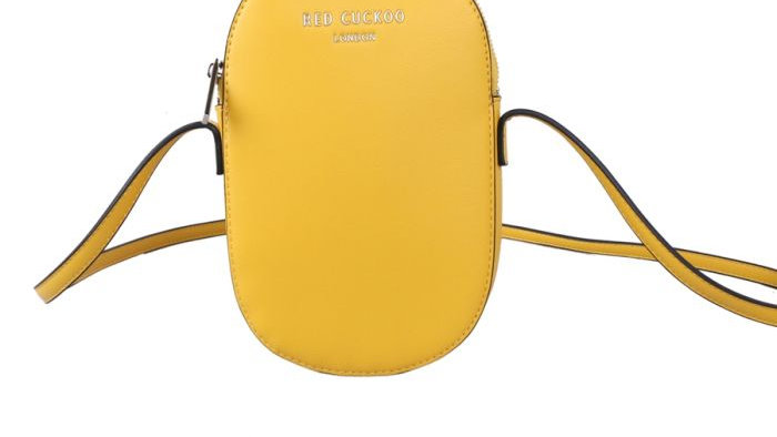 Red Cuckoo Yellow Oval Cross Body