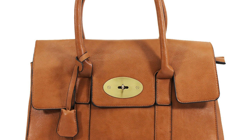 Tan Inspired Tote Bag