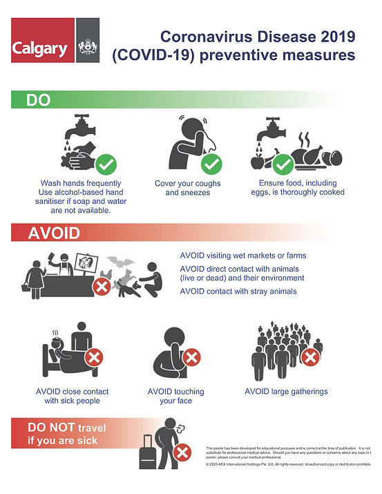 COVID-19_Precautions Poster_v3 English -