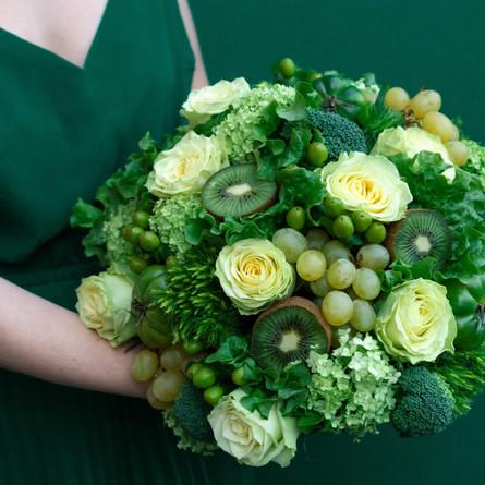 Bouquet de légume vert