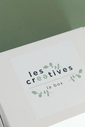 """La box """"Les Créatives"""" (Octobre)"""