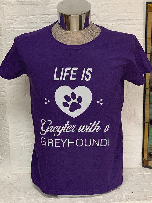 Life is Greyt Ladies T