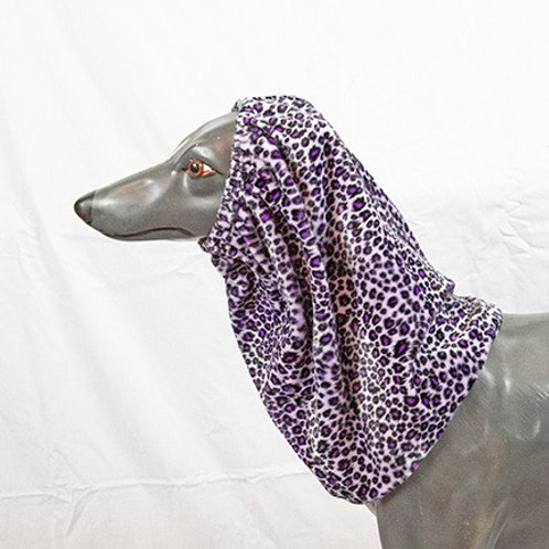 Purple Cheetah Print Snood