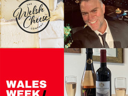 Welsh Wine and Cheese Tasting with White Castle Vineyard and Welsh Cheese Company