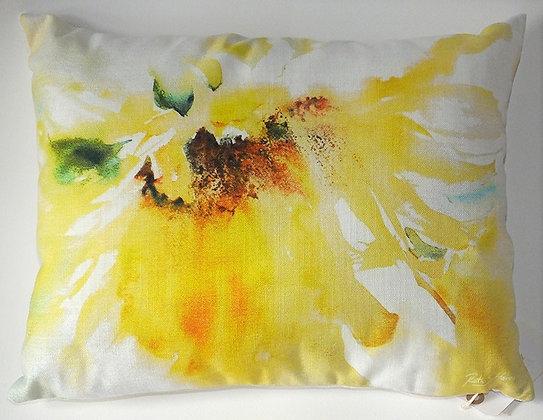 Loose Sunflower cushion