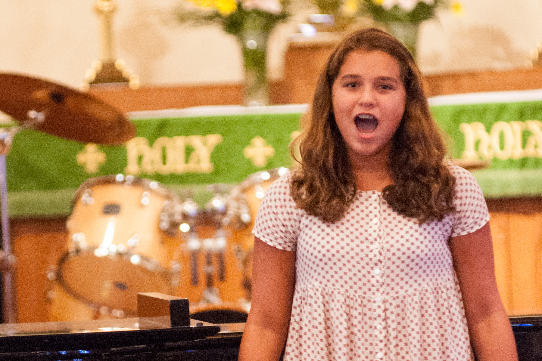 Vocal Music Student