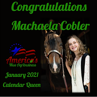 AMAg Calendar Queen Machaela Cobler[3862