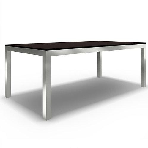 Dining Table With Black Quartz Top