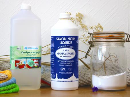 Fabriquer mes produits ménagers 100% écologiques