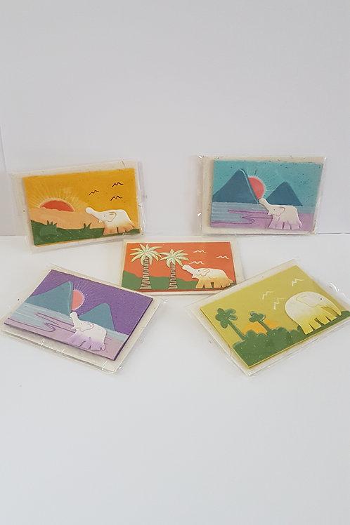 Petite carte avec enveloppe Elecosy