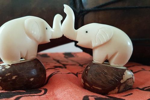 Éléphant en ivoire végétale