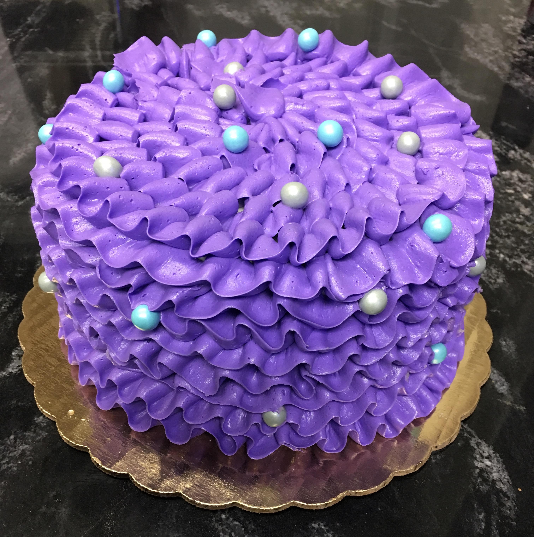 Purple Ruffles Outfit Match