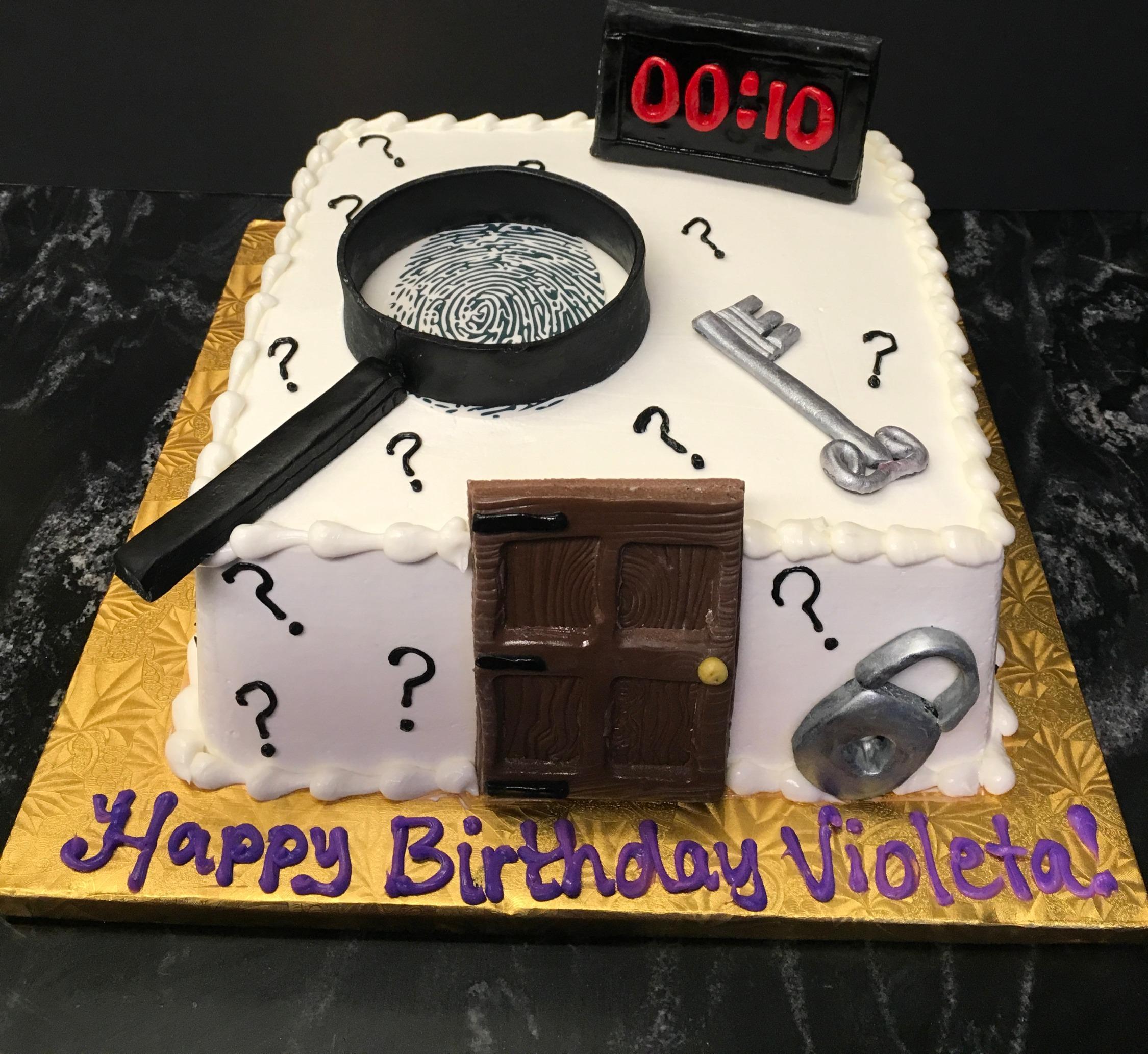 Escape The Room Cake