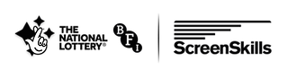 Lock Up Logo BFI ScreenSkills all black