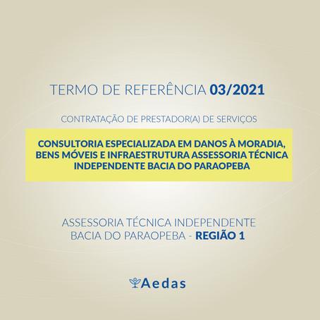 TR 03/2021 - CONSULTORIA ESPECIALIZADA EM DANOS À MORADIA BENS MÓVEIS E INFRAESTRUTURA R1