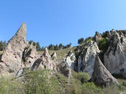 Скалы города Горис