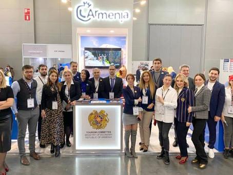 Компания АрмеТур приняла участие в крупнейшей выставке MITT 2021 в Москве