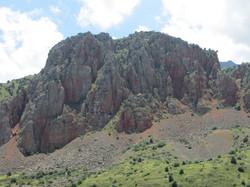 Красные скалы около Нораванка