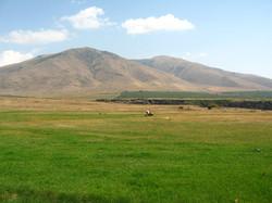 Вид на гору Араи