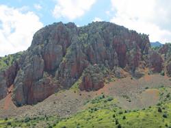 Красные скалы Нораванка