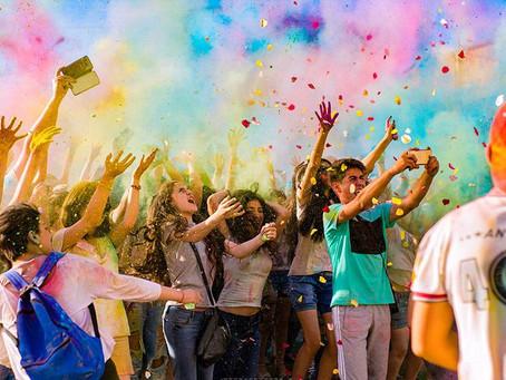2 июня в Ереване пройдет фестиваль красок Color Fest 2018