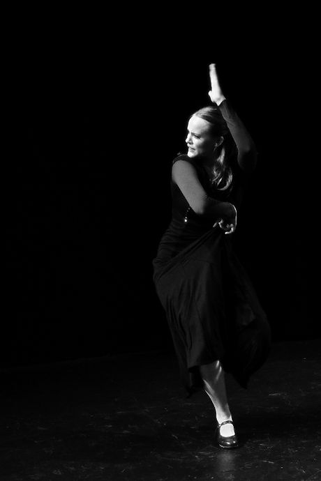 Maria Avila Flamenco Dancer