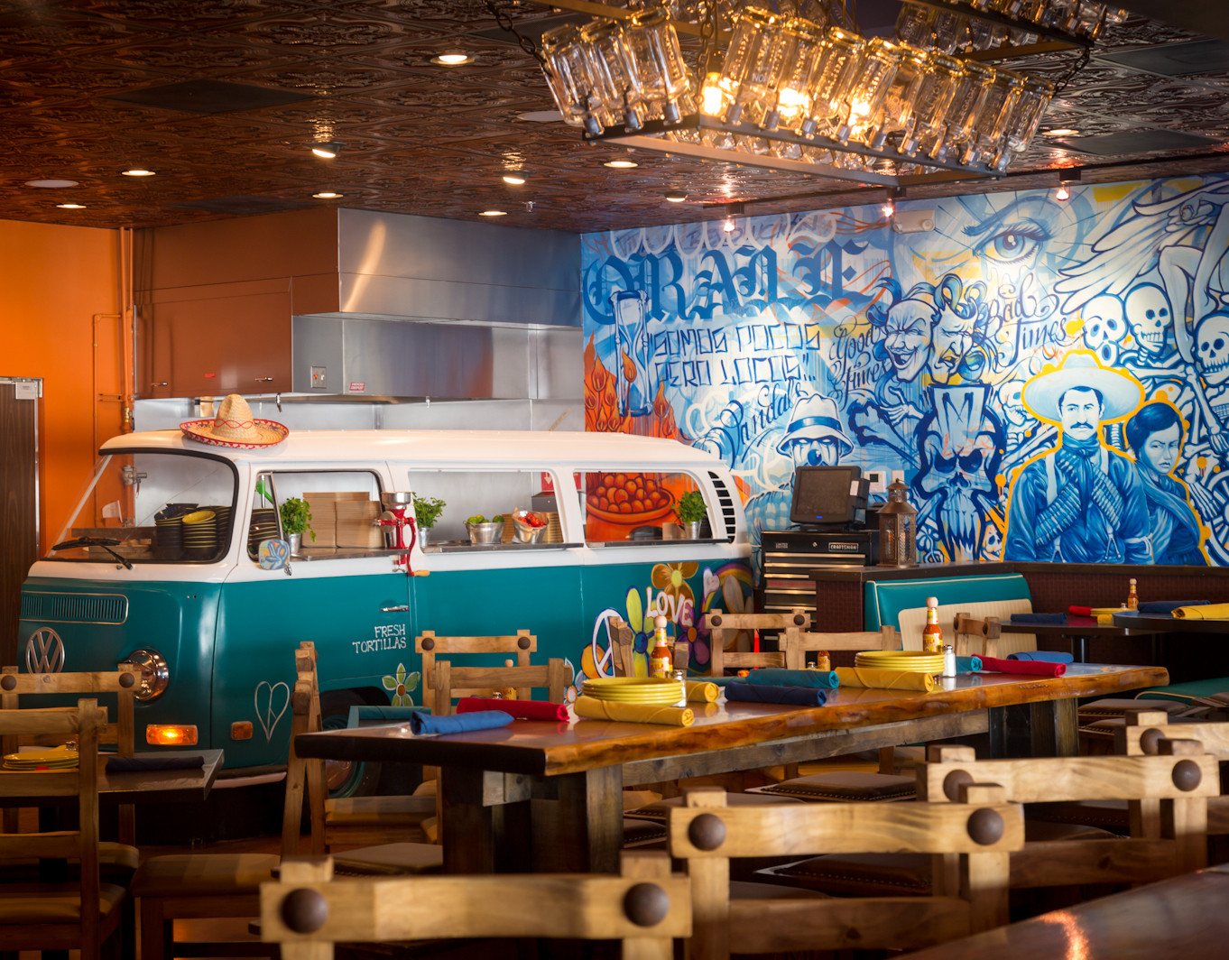 Photo, The Mexican, Interior with Bus.Ph